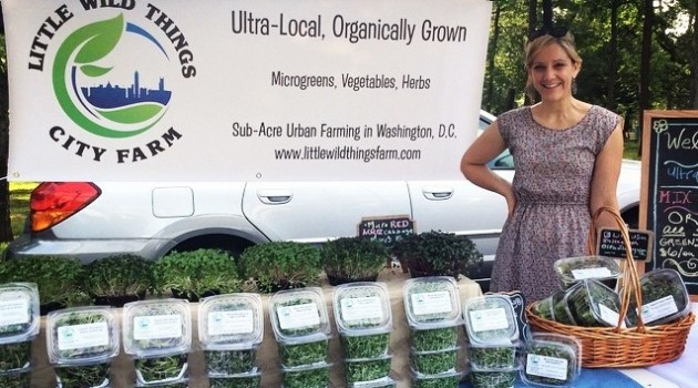 """I believe urban agriculture must be viable as a business for it to be truly sustainable and to make a bigger impact on the food system."" -Mary Ackley"