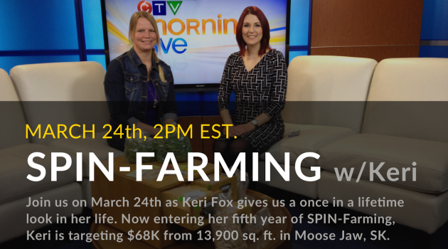 Join us on March  24th to hear Keri explain how she built a backyard farming business in the heart of industrial ag country, and became a local celebrity.