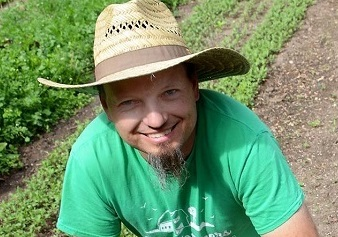 Meet January's Garden Hero – Chris Kimber: Stay-at Home Farming Dad
