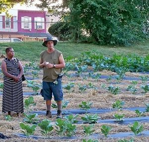 Meet October's Garden Hero – Bruce Manns: Growing $ at a Non-profit Farm in York PA